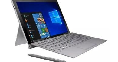 Samsung Galaxy Book 2 aka Samsung Galaxy Book 2018 specs laptop mode Surface Pro competitor