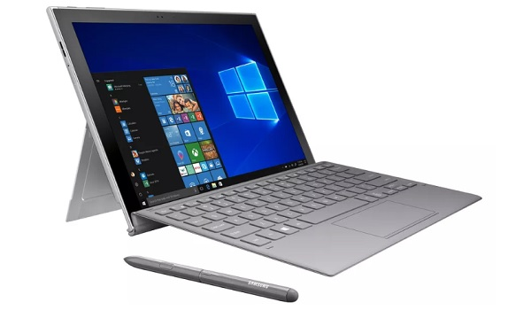 Samsung Galaxy Book 2 aka Samsung Galaxy Book 2018 specs laptop mode Surface Pro competitor
