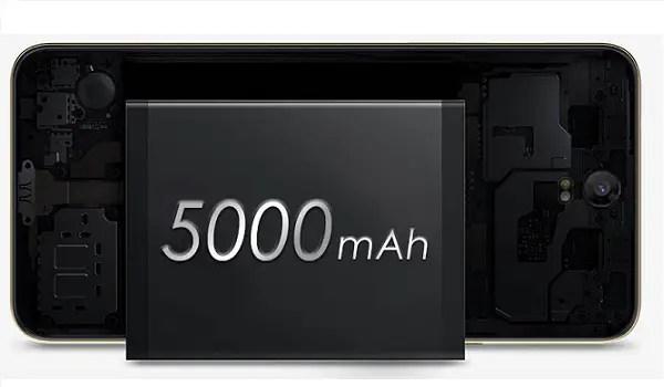 TECNO Pouvoir 2 Pro battery