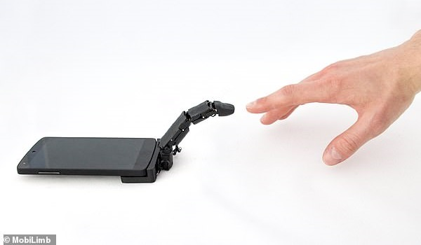 MobiLimb robotic finger attachment