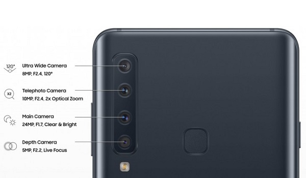 samsung galaxy a9 2018 quad camera