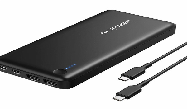 charge three devices with Rav Power Xtreme 26800mAh power bank