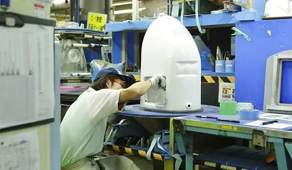 Japanese toilet manufacturing