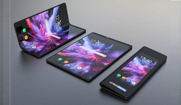 Samsung Galaxy Fold has a foldable display