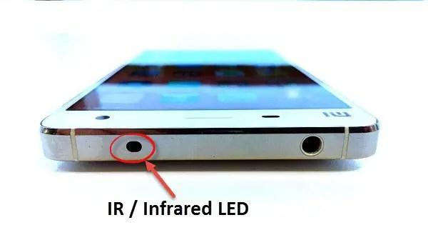 Xiaomi phone IR blaster
