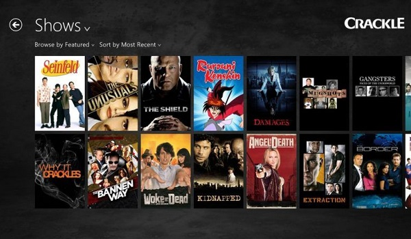 crackle - free movie streaming