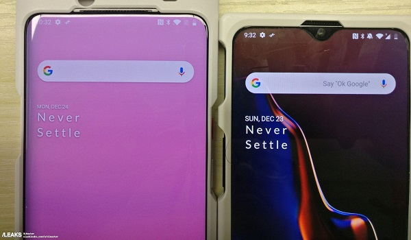 OnePlus 7 leaked photo: no notch
