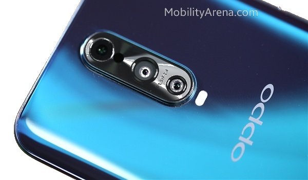 OPPO 10x optical zoom camera phone