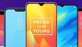 realme smartphone lineup