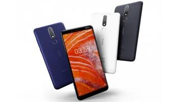 Nokia 3.1 Plus colours