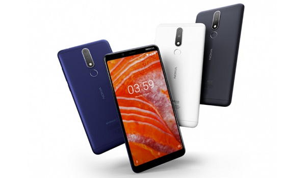 Nokia 3.1 Plus colours