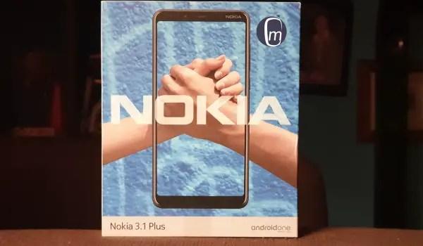 nokia 3.1 plus phone box