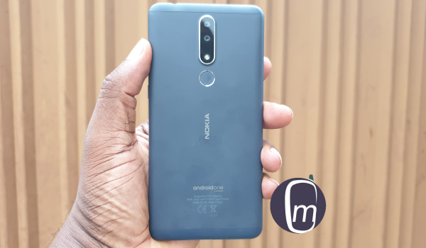 nokia 3.1 plus review phone back