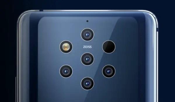 nokia 9 pureview 5 cameras
