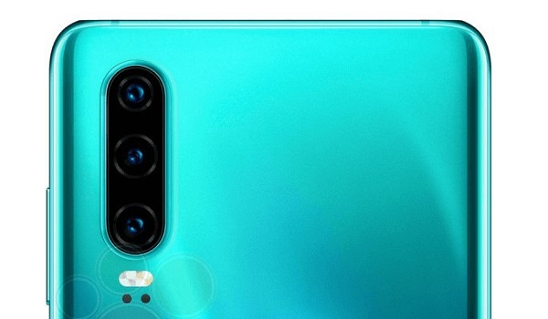 Huawei P30 triple camera