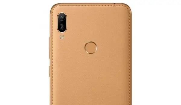 Huawei Y6 Prime 2019 unique faux leather design