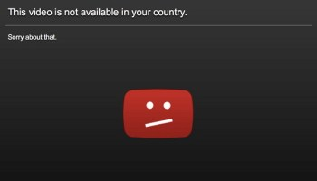 This content is not available in your country error