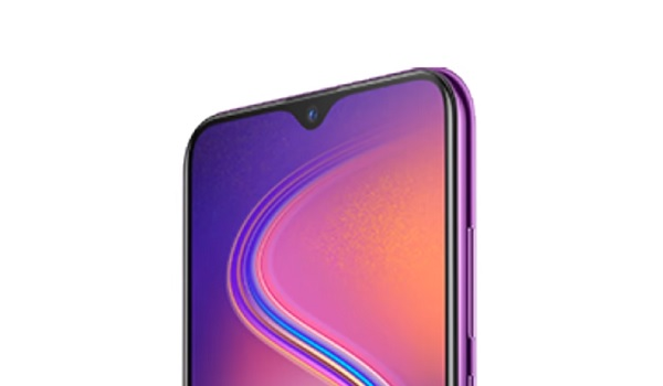 Infinix Hot S4 waterdrop notch