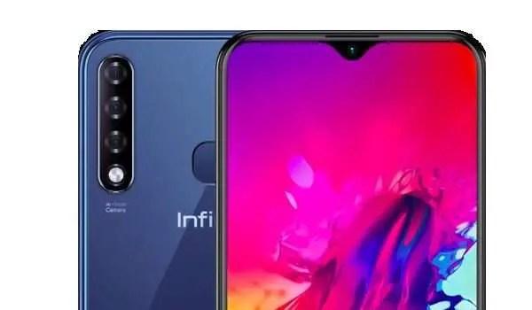 Infinix Smart 3 Plus selfie and rear cameras
