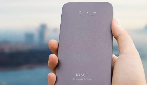 KiMiFi K5 MiFi worldwide unlimited 4G mobile hotspot