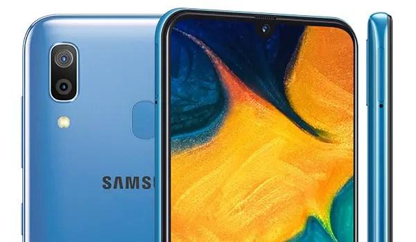 Samsung Galaxy A30 2019 cameras