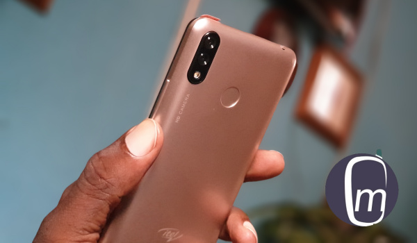 itel P33 dual camera and fingerprint