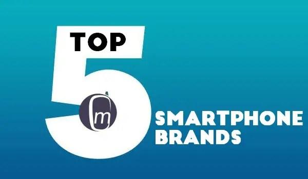 top 5 premium smartphone brands