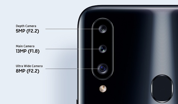 Samsung galaxy a20s triple camera