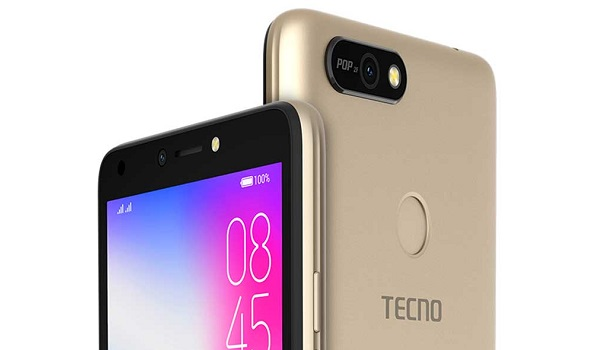 TECNO POP 2F (entry-level Android 8 phone) - Full specs