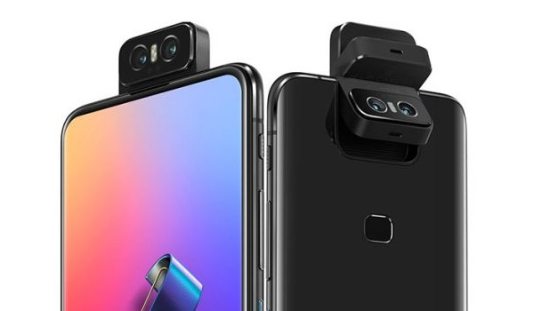 Asus Zenfone 6 camera flips from back up and is the best selfie camera phone