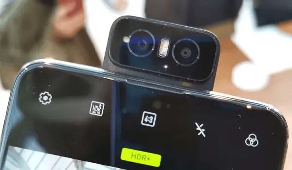 Asus Zenfone 6 flip-up camera looks like an owl