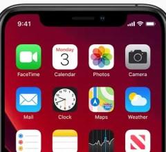 Apple ios 13 home screen iphone