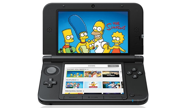 Nintendo 3DS games - the simpsons