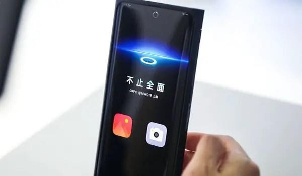 OPOPP under-display selfie camera