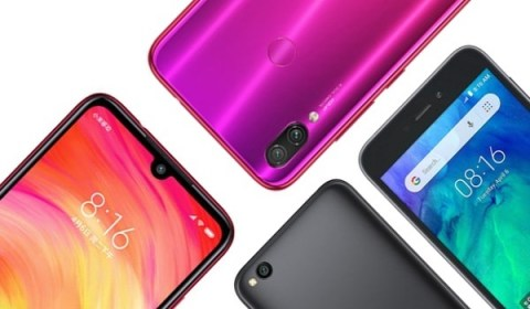 Redmi Note 7 and Redmi Go