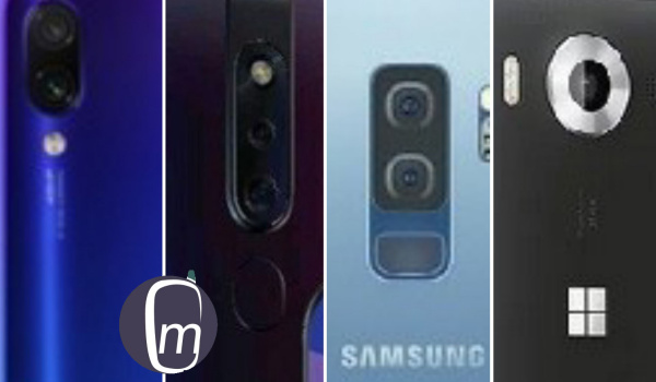 Redmi note 7 vs Oppo f11 pro vs Samsung s9 plus vs Lumia 950