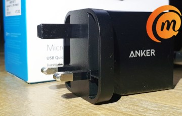 Anker 18w PowerPort+ 1 Quick Charge 3.0 fast charger review