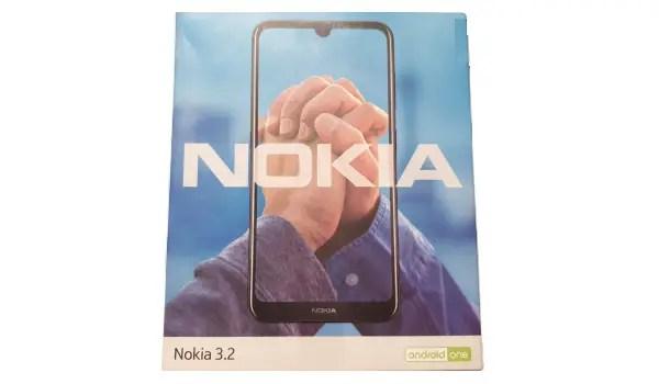 Nokia 3.2 box