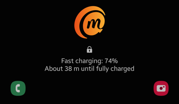 Samsung Galaxy s9 plus fast charging notification