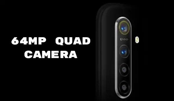 64MP quad camera phone