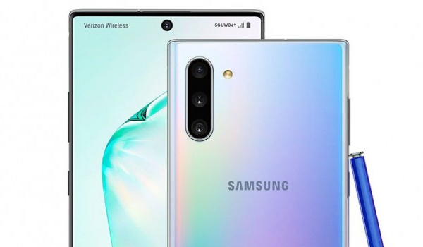 Galaxy Note10 front and back cameras