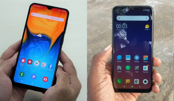 Samsung Galaxy A20 vs Redmi Note 7 comparison