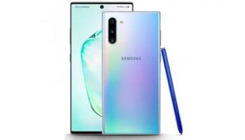 Samsung Galaxy Note10 plus vs Huawei Mate 30
