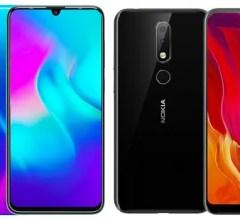 TECNO Phantom 9 vs Nokia 6.1 Plus comparison review