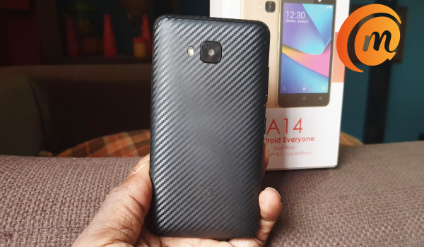iTel a14 review: faux-kevlar like plastic