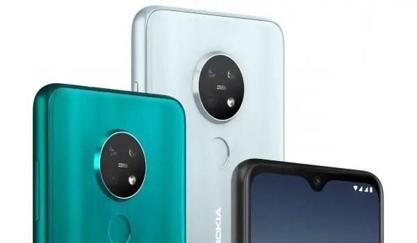 Nokia 7.2 triple camera