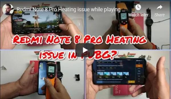 Redmi Note 8 Pro PUBG test video