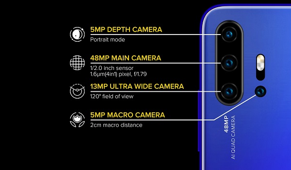 UMIDIGI F2 with 48MP quad camera