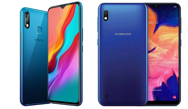 Infinix HOT 8 Lite vs Samsung Galaxy A10
