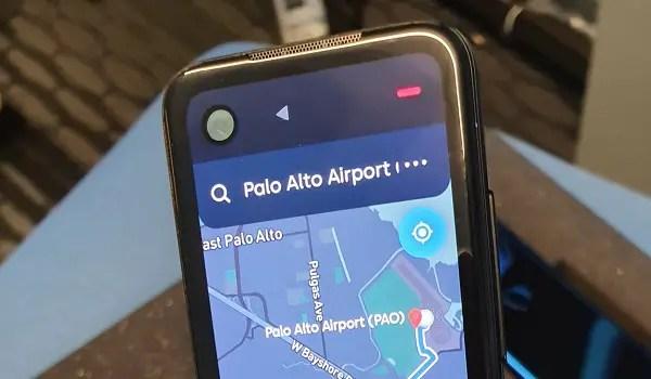 essential remote control phone maps app